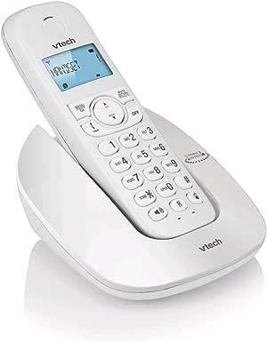 Vtech ES1610A, Bluetooth MobileConnect Digital Cordless Phone, White