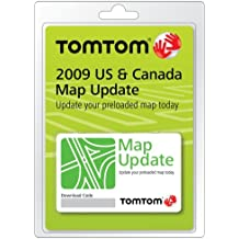 TomTom 2009 U.S. and Canada Map Update for GO, XL, and ONE GPS Navigators