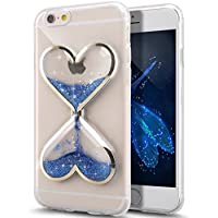 DStores iPhone 7 plus Clear Case,Luminous Love Shape...