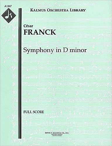 Symphony in D minor: Full Score [A1447]