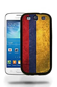 Colombia National Vintage Flag Phone Case Cover Designs for Samsung Galaxy S3