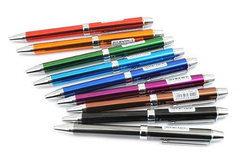 Pilot 2 +1 EVOLT 2 Color 0.7 mm Ballpoint Multi Pen 0.5 mm Mechanical Pencil, Green Body Photo #8