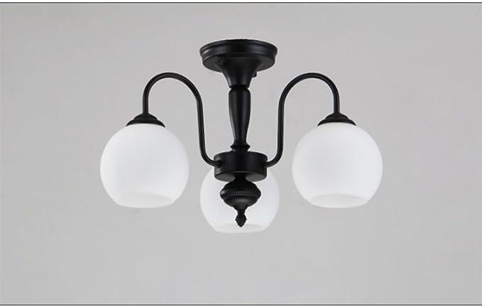 Gzloft vintage lampada a sospensione lampadario camera da letto in