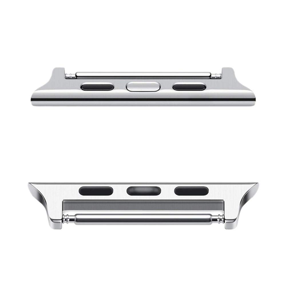 Choosebuy Bracelet Band Strap Adapter Connector for Apple Watch/iWatch Series 4 44mm (Silver) by Choosebuy (Image #2)