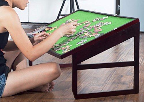 Jigsaw Puzzle Table Storage Folding Tilting Table 1000 pcs Mat BPTT by Olasante