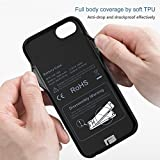 WELUV Wireless Battery Case for iPhone 8 7 6s 6