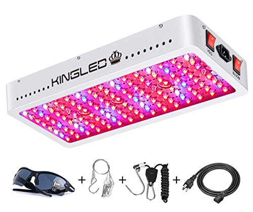 King Plus 1500W Double Chips LED Grow Light Full Spectrum for Greenhouse and Indoor Plant Flowering Growing 10w Leds
