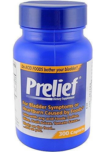 Prelief Acid Reducer Dietary Supplement Caplet 300 ct (6 Pack) by Prelief