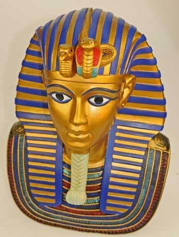 Muertos máscara del busto de Tutankamón proporciona-ench-amón réplica Egipto: Amazon.es: Juguetes y juegos