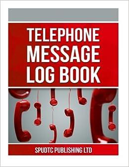 telephone message log