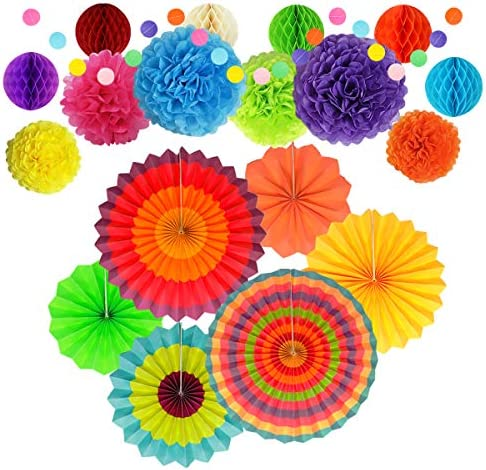 Decorations Decoration Honeycomb Birthday Carnival product image