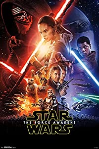 """Trends International RP14353 Wall Poster Star Wars The Force Awakens, 22"""" X 34"""", Wall Poster"""
