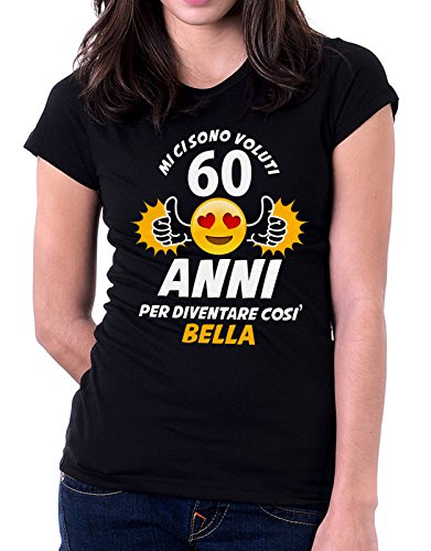 Compleanno Sono Diventare Anni Per Così 60 Voluti Ci Mi Tshirt Bella lcTJ1FK3
