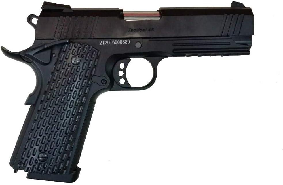 GOLDEN EAGLE Pistola Gas 1911 Night Warrior 4.3 Color Negro