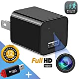 Hidden Camera - Mini Spy Camera - Motion Detection - USB Charger Camera - Hidden Spy Cam - Hidden Nanny Cam - Home...