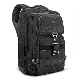 Solo Altitude 17.3 Laptop Backpack, Black