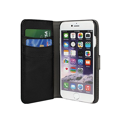 Redneck RNCS01244 Duo Wallet Schutzhülle für Apple iPhone 6/6S Plus schwarz