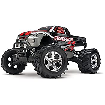 Amazon.com: Traxxas Stampede 4X4: 1/10 Scale 4wd Monster ...