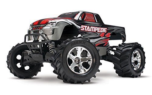 Traxxas Stampede 4X4: 1 10 Scale 4wd Monster Truck with TQ 2.4GHz Radio - Silver