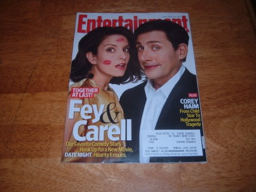 Entertainment Weekly March 26 2010 Tina Fey & Steve Carell/Date Night on Cover, Corey Haim 1971-2010, Inside the Casting of Dancing With the Stars, What Should Sandra Bullock Do Next, Zooey Deschanel/She & Hiim