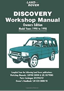 Land rover discovery 1989 to 1998 g to s registration petrol land rover discovery workshop manual 1990 1998 fandeluxe Image collections