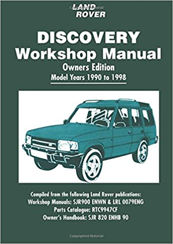 land rover discovery workshop manual 1990-1998: brooklands books ltd:  9781855207660: amazon com: books