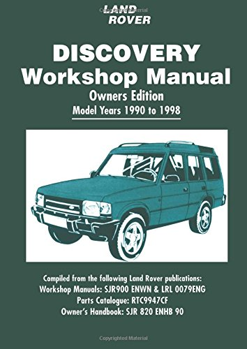 land rover discovery workshop manual 1990 1998 brooklands books ltd rh amazon com discovery 1 owner's manual pdf discovery 4 owners manual