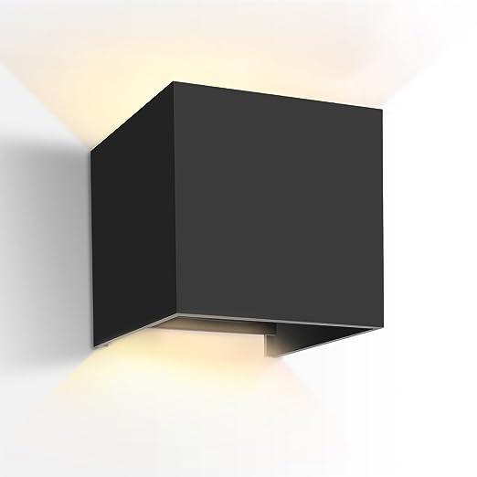 68 opinioni per GHB 7W Lampada Esterna da parete Impermeabile Lampada a Muro in Alluminio Luce