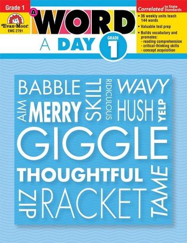 A Word a Day, Grade 1: Evan Moor: 0023472027917: Amazon.com: Books