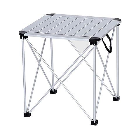 PPIIO Mesa plegadiza de Aluminio al Aire Libre Mesa y sillas ...