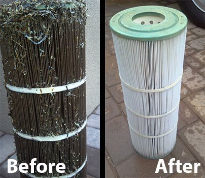Premium pool spa filter cartridge cleaner by aquatix pro - How to clean a dirty swimming pool ...