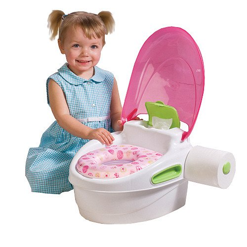 Summer Infant 3 Stage Reward Potty Trainer & Step Stool - Pink