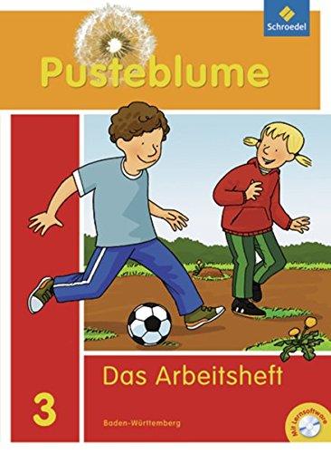 Pusteblume. Das Sprachbuch - Ausgabe 2010 Baden-Württemberg: Arbeitsheft 3 mit Lernsoftware