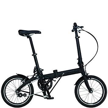 Dahon Jifo bicicleta plegable negro mate