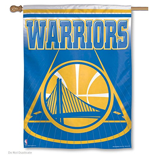Wincraft 12888017 NBA Golden State Warriors 28 x 40 Inch Vertical Banner, Team Color, Multi