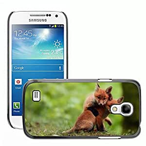 Hot Style Cell Phone PC Hard Case Cover // M00047551 animals fox club wild // Samsung Galaxy S4 MINI GT-i9190 i9192 i9195