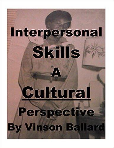 A Cultural Perspective
