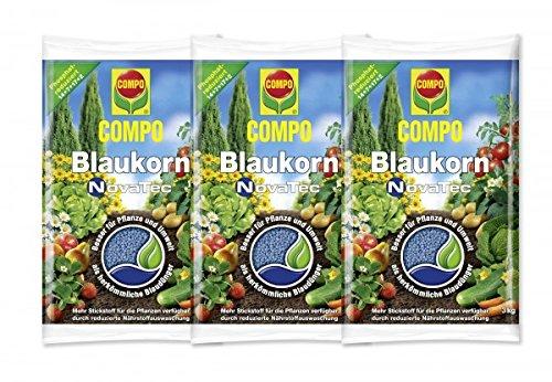 COMPO Blaukorn NovaTec 3x3 kg