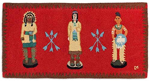 - Chandler 4 Corners Cigar Store Indian 2'x4' Rug