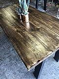 UMBUZÖ Reclaimed Wood Dining Table - Farmhouse Dining Table