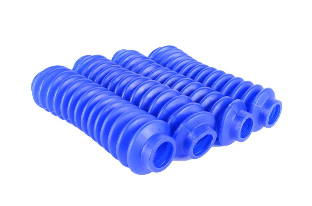 4 Shock Boots Royal Blue Fits Most Shocks for Jeep Wrangler YJ All Models by Rukse
