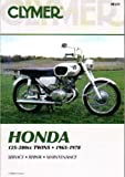 M321 125-200cc CB CL CA Twin Cylinder 1964-1978 Honda Motorcycle Repair Manual Clymer