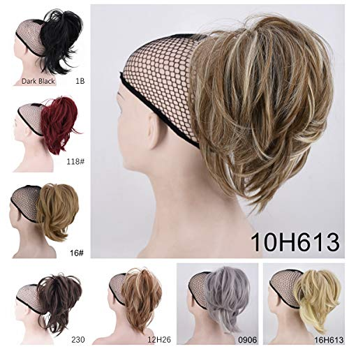Xiangsen Adjustable Messy Ponytail Hair Extensions Short Curly Claw Ponytail Clip on Hair Ponytail Clip In Hair Extensions (10H613)