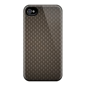 Defender Case With Nice Appearance (damascus) For Iphone 4/4s