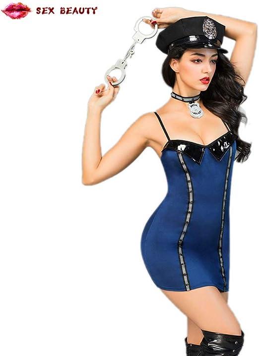 SEX BEAUTY Disfraz de Oficial de policía Sucio para Mujer/Traje de ...