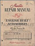 1951-1953 Ford Consul and Zephyr Repair Shop Manual Original