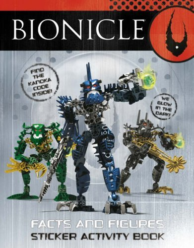 Facts and Figures Sticker Activity Book (BIONICLE) ()
