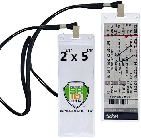Ticket Holder Display Sleeves Lanyards product image