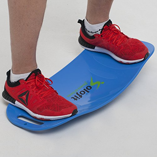 Balance Board Exercises For Back: Solofit Balance Board-Fitness Board For Abs, Legs, Core