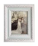 Lilian Polycarbonate picture frame, 4 x 6 inch, Blue